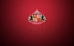 Картинка wallpaper, sport, logo, football, Sunderland AFC