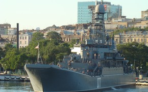 Картинка большой десантный корабль, морская служба, приборка