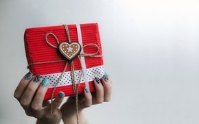 Картинка подарок, love, heart, romantic, gift