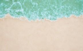 Картинка песок, море, волны, пляж, лето, summer, beach, sea, seascape, sand, wave