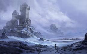 Картинка Frost, замки, крепости, Pawel Hordyniak