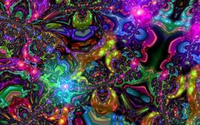Обои art, смесь цвета, мысли, арт, яркие краски, всполохи