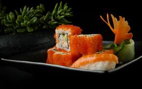 Картинка Суши, икра, роллы, морепродукты