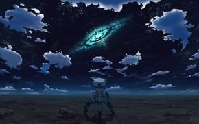 Картинка небо, облака, ночь