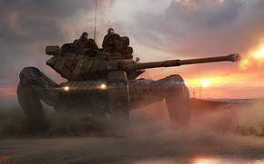 Картинка Indian Army, White Tiger Division, The Firing Range, 31 Armoured Division, Rhino AS9000R Heavy battle …