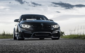 Картинка BMW, Black, F82, Eye, Sight
