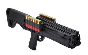 Обои Kel-Tec KSG, Kel-Tec, weapon, gun, shotgun, ammunition, KSG, 12 gauge