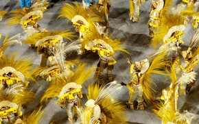 Обои самбодром, карнавал, Бразилия, Рио-де-Жанейро
