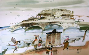 Картинка 2002г, АРУШ ВОЦМУШ, Город Солнца