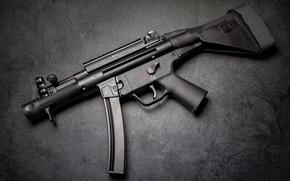 Обои автомат, Пистолет-пулемет, HK MP5K