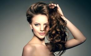 Картинка sexy, model, hair