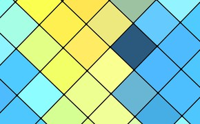 Картинка линии, design, blue, color, material, fhd-wallpaper