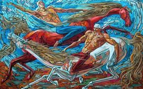 Картинка мужики, 2008г, Айбек Бегалин, Джигиты, мускулистые