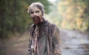 Картинка zombie, makeup, living dead, The walking dead, hanged