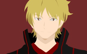Картинка anime, blonde, asian, manga, japanese, oriental, asiatic, shounen, guardian, World Trigger, Izumi Kouhei, by ncoll36