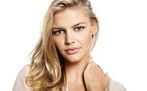 Картинка взгляд, поза, макияж, блондинка, model, hair, actress, Kelly Rohrbach, Келли Рорбах