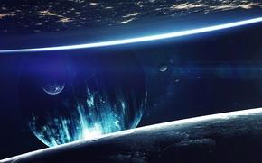 Обои fantasy, sci fi, cosmos, planet