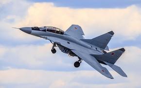 Обои многофункциональный, МиГ-35, лёгкий, истребитель