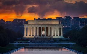 Картинка Вашингтон, США, Мемориал Линкольна