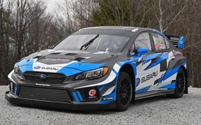 Обои Subaru, WRX, STI, 2018, Rallycross