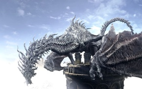Картинка game, dragon, Dark Souls, Dark Souls 3, Dark Souls III
