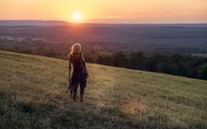 Картинка рассвет, зомби, The Walking Dead, Season 8, Episode 16
