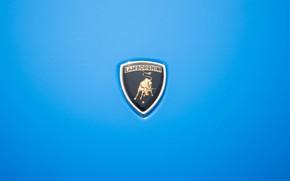 Картинка Авто, Синий, Lamborghini, Машина, Классика, Лого, Логотип, Автомобиль, 1968, Supercar, Lamborghini Miura, P400, Lamborghini Miura …