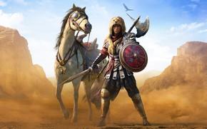 Обои Assassin's Creed, Assassin's Creed: Origins, Ubisoft, Roman Centurion, Origins, DLC