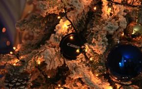 Картинка Canon, happy new праздник, kamera