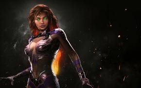 Картинка girl, game, NetherRealm Studios, Starfire, Injustice 2