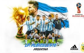 Картинка футбол, Аргентина, 2018, Чемпионат Мира