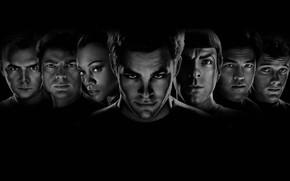 Обои Star Trek, герои, персонажи, Звёздный путь