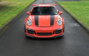 Картинка дорога, спорткар, Porsche 911, Porsche 911 GT3 RS