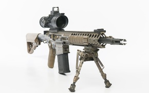 Обои Sharpshooter Assault Rifle, 7.62mm, L129A1, оружие