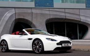 Картинка Aston Martin, Vantage, кабриолет, V12