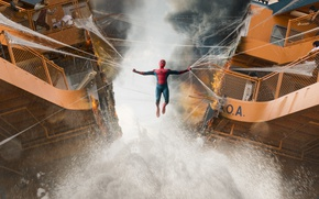 Картинка cinema, spider, boy, Marvel, movie, Spider-man, hero, film, mask, Spiderman, uniform, yuusha, seifuku, Justice League, …