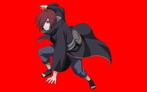Картинка red, Naruto, anime, ninja, shinobi, Nagato, Naruto Shippuden, doujutsu, hitaiate, rinegan, Pain, Pein, japonese, Amegakure, …