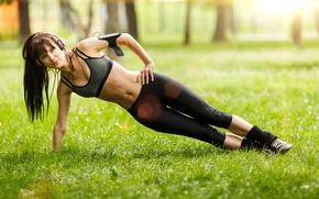 Картинка pose, workout, abs, fitnes, hardwork