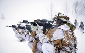 Картинка оружие, солдаты, Norwegian Army