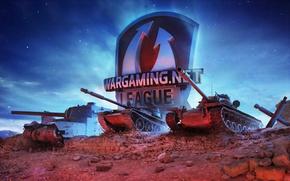 Картинка камни, эмблема, танки, World of Tanks, Wargaming.net, WOT, League