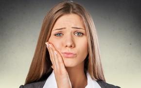 Картинка woman, suffering, toothache