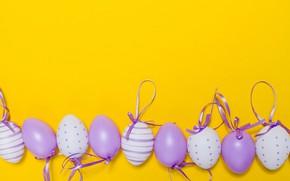 Картинка фон, праздник, яйца, пасха