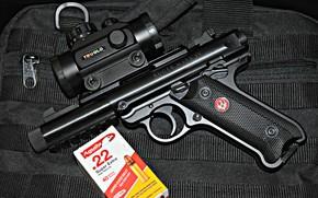 Картинка Ruger, MK IV, automatic pistol