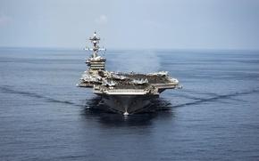 Картинка оружие, флот, aircraft carrier, USS Carl Vinson, CVN 70