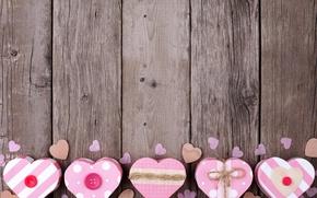Обои день Святого Валентина, heart, love, доски, romance, любовь, романтика, Valentine's Day, сердце, коробка