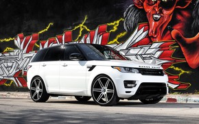 Картинка Range Rover, with, Sport, exterior, matched