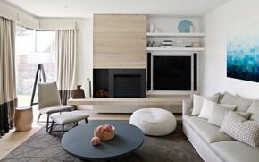 Картинка комната, интерьер, гостиная, Barwon Heads
