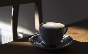 Картинка свет, кофе, чашка