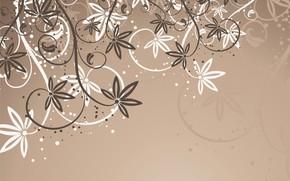 Картинка фон, вектор, текстура, abstract, background, floral