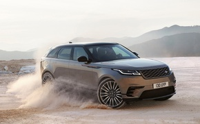 Обои Land Rover Range Rover Velar, Range Rover Velar, car, speed, Land Rover